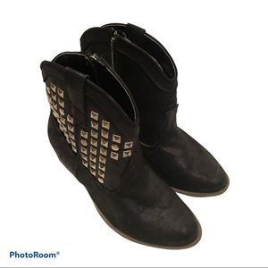 JustFab studded Boots